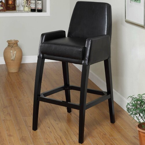 "Armen Living Baldwin 30"" Stationary Barstool"