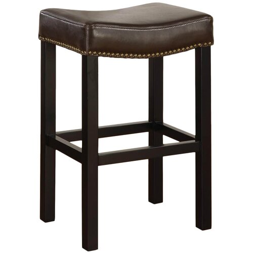 "Armen Living Tudor 30"" Wrangler Backless Barstool"