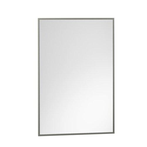 Slate Gray Framed Mirror