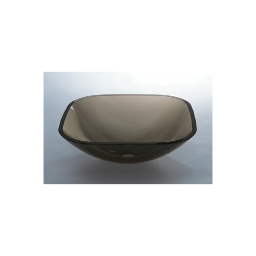 Square Glass Vessel Bathroom Sink