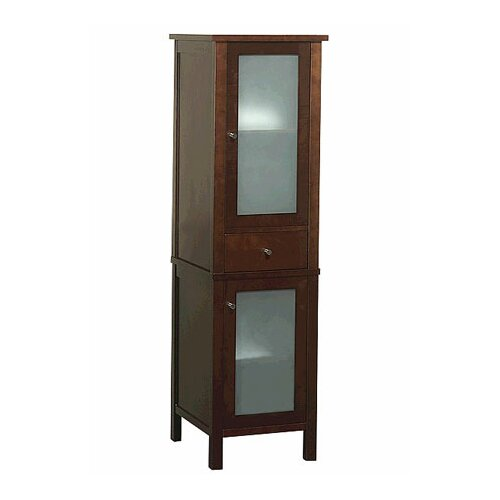 """Ronbow Contempo 64.94"""" x 18.88"""" Freestanding Linen Tower"""
