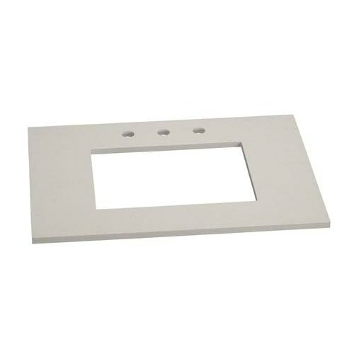 """Ronbow 31"""" Stone Vanity Top for Single Undermount Sink"""