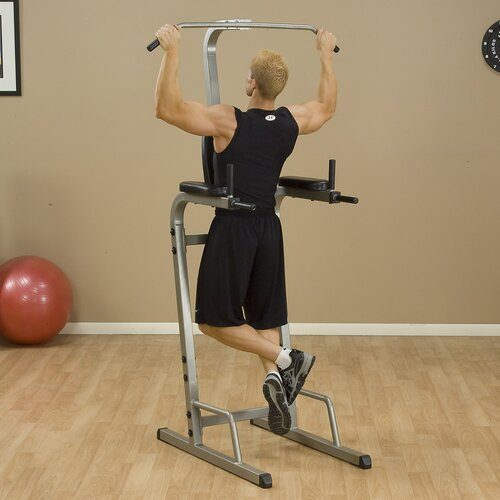 Best Fitness Vertical Knee Power Tower