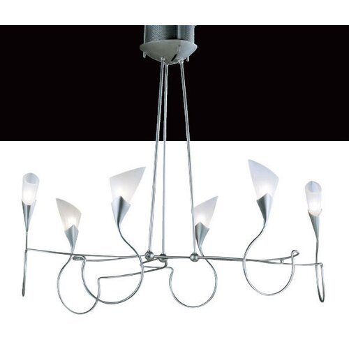 Lamp International Sibilla Six Light Chandelier