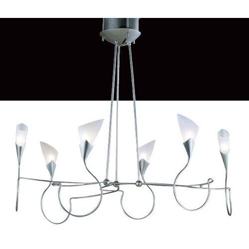 Lamp International Sibilla Six Light Chandelier