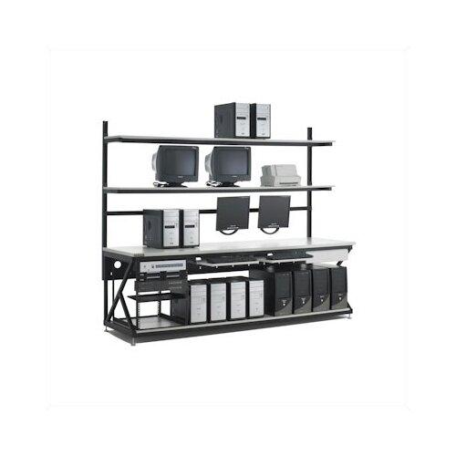 """Kendall Howard 96"""" Performance LAN Station Workbench with Full Bottom Shelf"""
