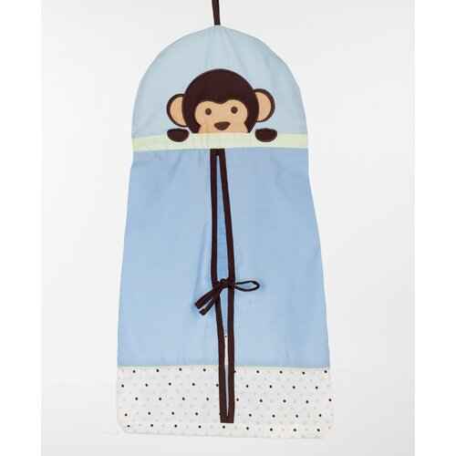 Pam Grace Creations Maddox Monkey 10 Piece Crib Bedding Set