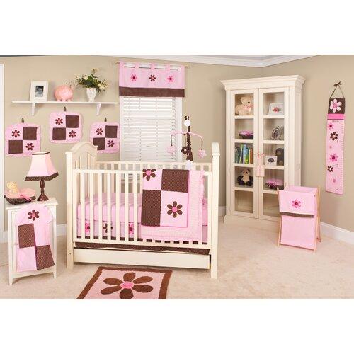 Pam Grace Creations Pam's Petals 10 Piece Crib Bedding Set