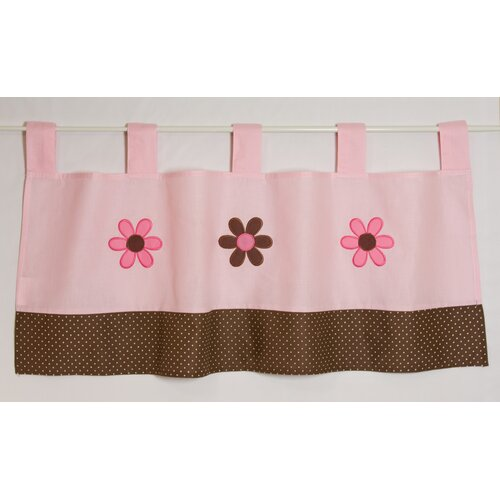 "Pam Grace Creations Pam's Petals 39"" Curtain Valance"