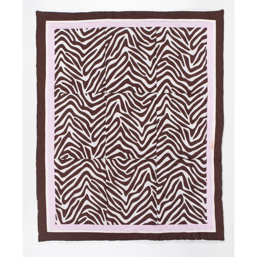 Pam Grace Creations Zara Zebra 10 Piece Crib Bedding Set