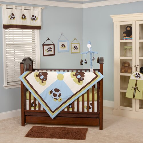 Pam Grace Creations Mr. and Mrs. Pond Crib Bumper