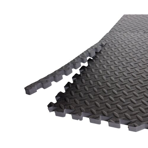 "Cap Barbell 0.5"" Anti - Microbial 6 Pieces Puzzle Mat"