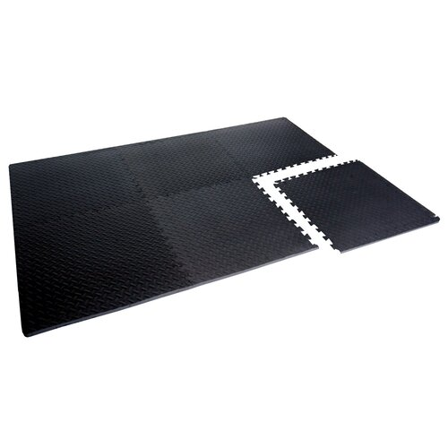 "Cap Barbell 0.75"" Anti - Microbial 6 Pieces Puzzle Mat"