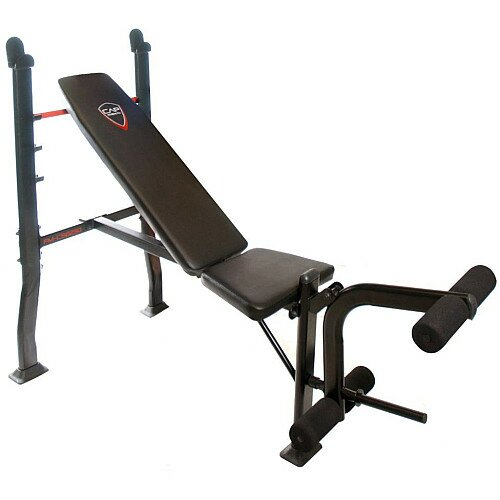 Strength Standard Weight Olympic Bench with Attachment