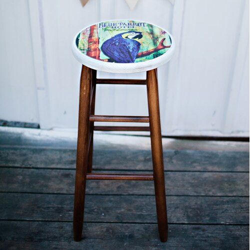 "Dixie Seating Company Coastal 24"" Counter Stool"