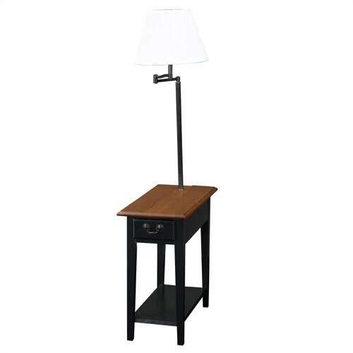 Leick Furniture Favorite Finds Chairside Lamp End Table