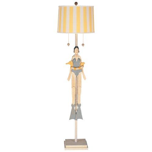 Mario Industries Girl with Tube Floor Lamp