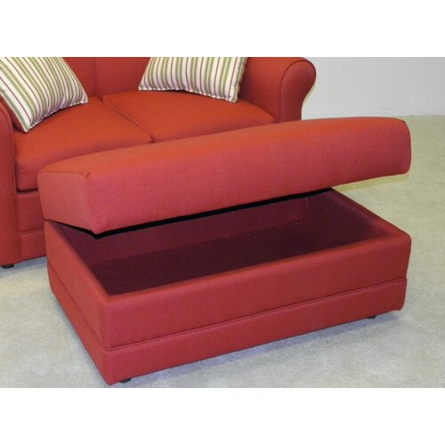 LaCrosse Furniture Vibrant Ottoman