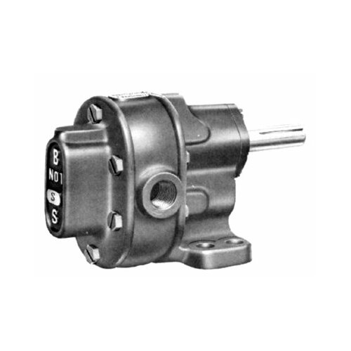 BSM Pump B-Series Pedestal Mount Gear Pumps - 2 rotary gear pump footmtg wgf wrv