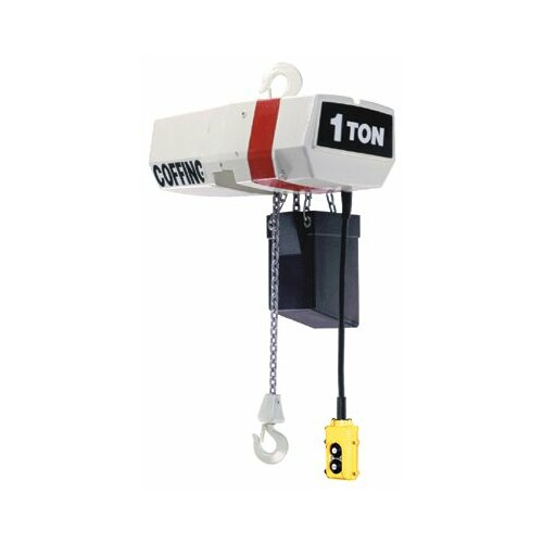 Coffing Hoists EC-V Variable Speed Chain Hoists - elec chain hoist w/ variable spd  2 ton 10ft cha