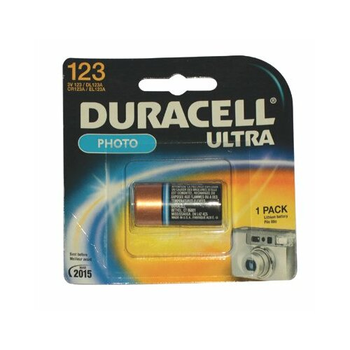 Duracell Duracell - Lithium Batteries 3.0 Volt Lithium Battery(2 Batteries/Cd): 243-Dl123Ab2Pk - 3.0 volt lithium battery(2 batteries/cd)