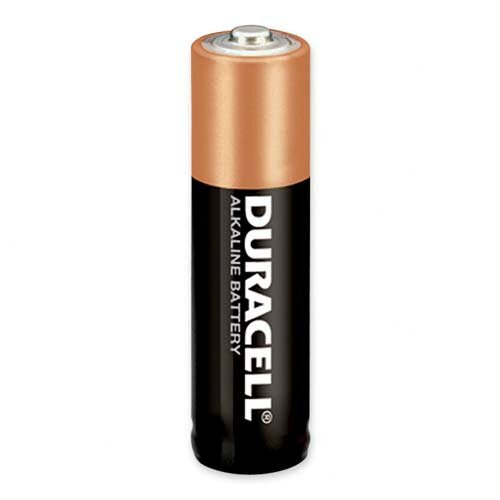 Duracell Alkaline Battery, AA, 2/PK