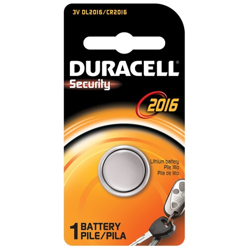 Duracell 3 Volt Lithium Security 2016 Battery