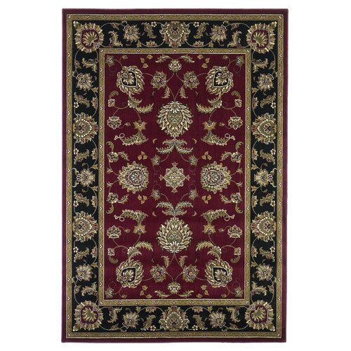 KAS Oriental Rugs Cambridge Red/Black Bijar Rug
