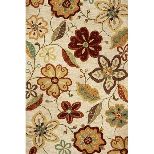 KAS Oriental Rugs Meridian Ivory Serafina Indoor/Outdoor Rug