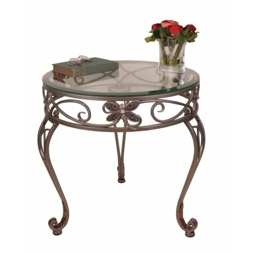 Passport Furniture Dragonfly End Table