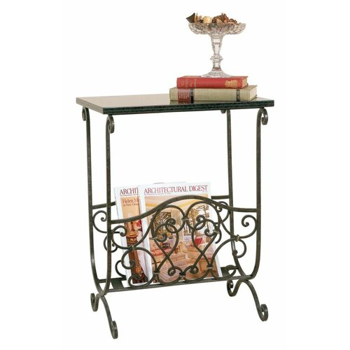 Passport Furniture Swirl Magazine Table