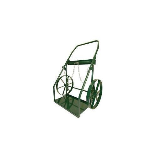 """Harper Trucks 300 Series Continuous Handle Hand Truck For Medium And Large Cylinders With 18"""" Steel Wheels"""