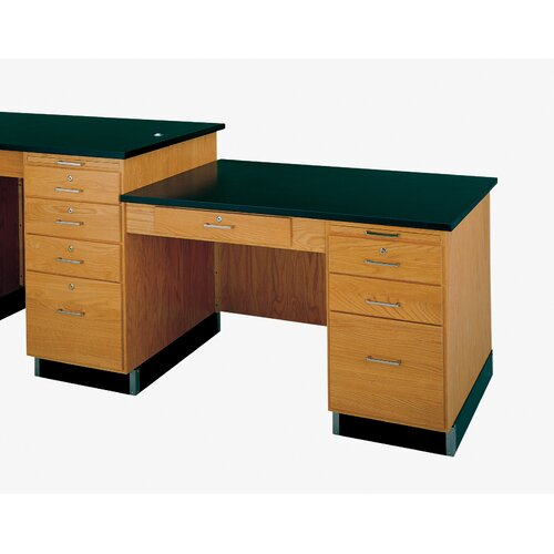Diversified Woodcrafts Side Desk for 5' and 8' Wide Instructor's Desk