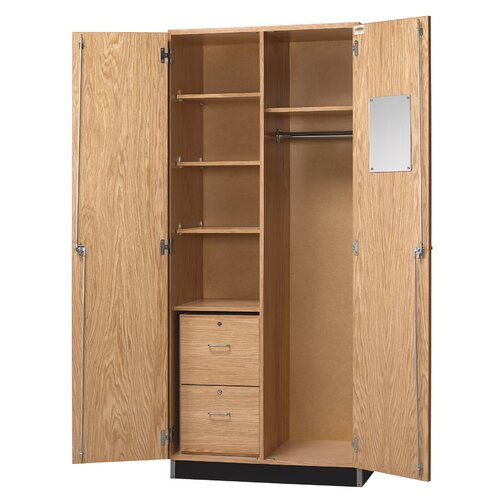 "Diversified Woodcrafts 36"" Wardobe Unit"