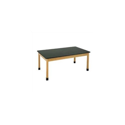 Diversified Woodcrafts Plain Apron Science Table With ChemArmor Top
