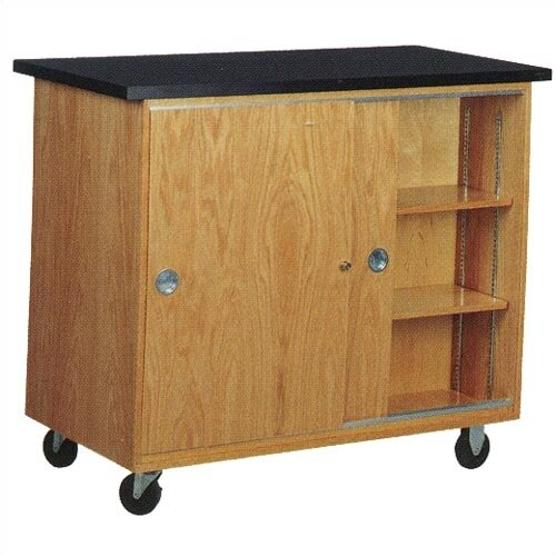 Diversified Woodcrafts Mobile Balance Storage Cabinet