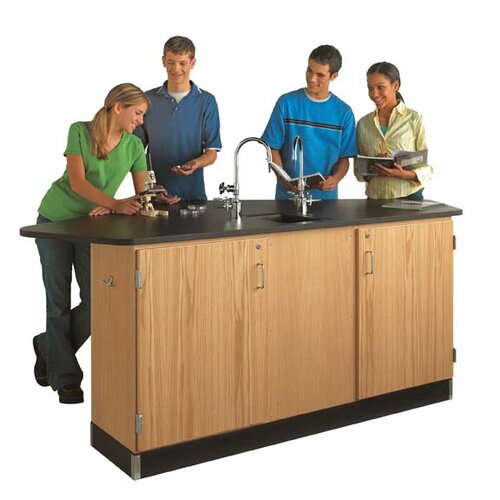 Diversified Woodcrafts Forward Vision II Four Student Workstation