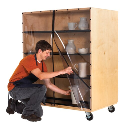 Diversified Woodcrafts Sculpture Ware Cart
