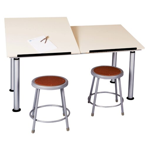 Diversified Woodcrafts ALTD-2 Adaptable Drawing Table