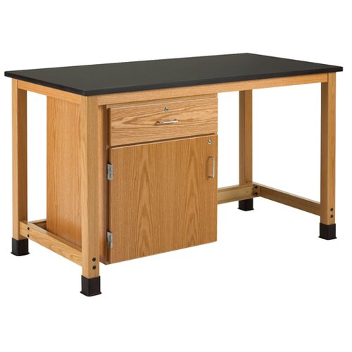 Diversified Woodcrafts Add A Cabinet Epoxy Top Workbench