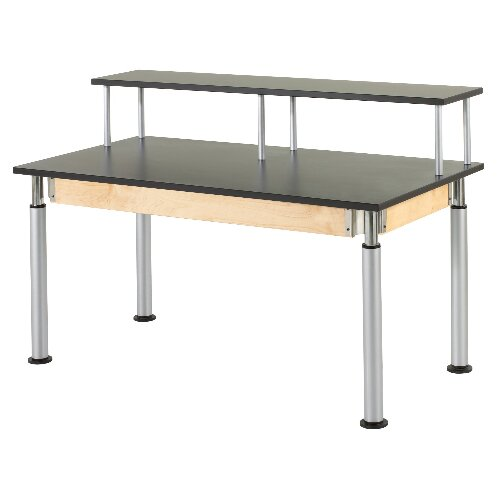 Diversified Woodcrafts Adjustable Height Riser Table
