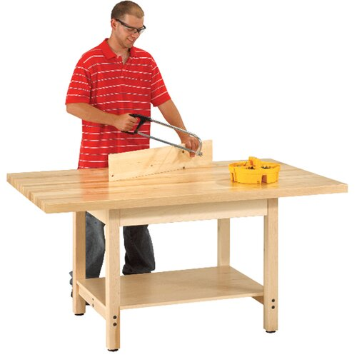 Diversified Woodcrafts Maple Top Workbench