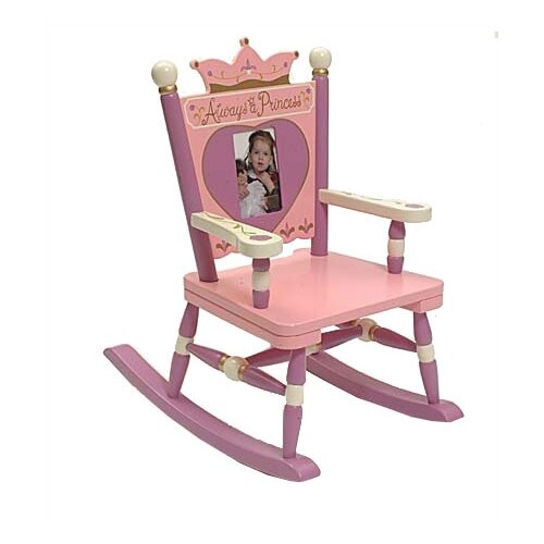 Levels of Discovery Rock A Buddies, Jr. Princess Mini Kid Rocking Chair
