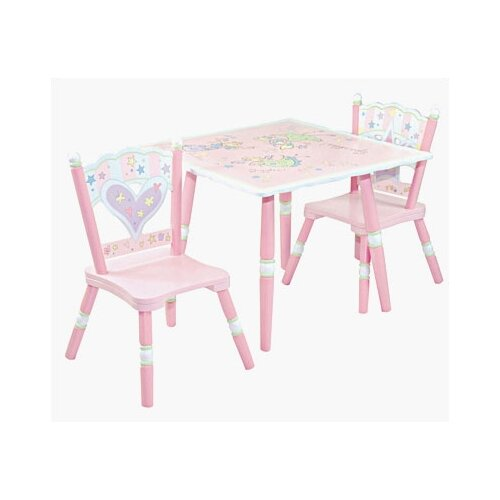 Levels of Discovery Fairy Wishes Kids' 3 Piece Table and Chair Set