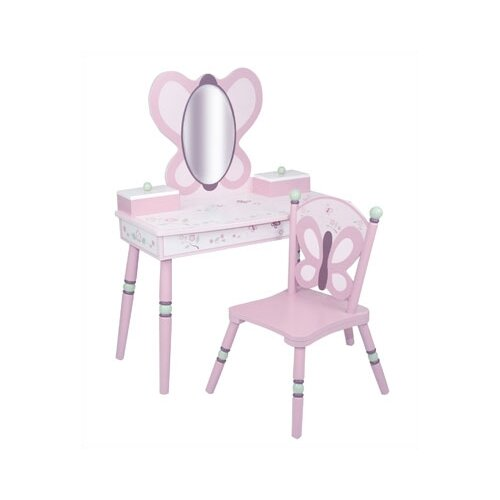 Levels of Discovery Sugar Plum Vanity Set with Mirror