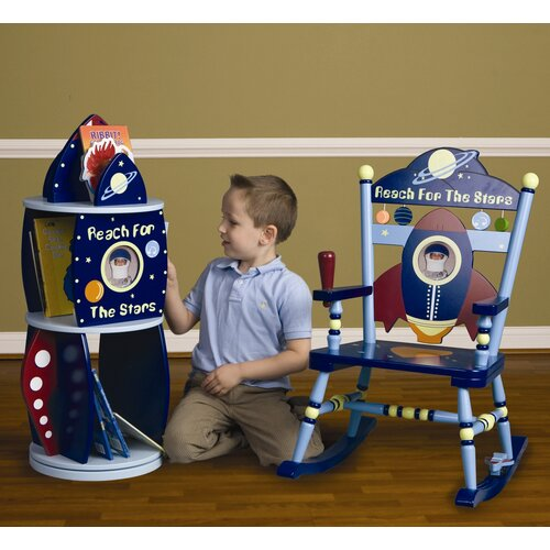 Levels of Discovery Rock-It Spaceship Kid's Rocking Chair