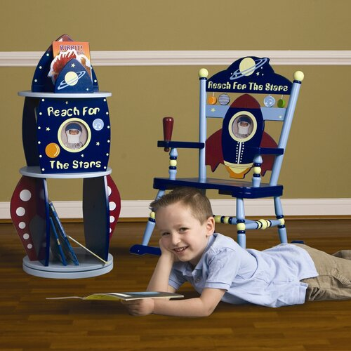 Rock-It Spaceship Kid's Rocking Chair