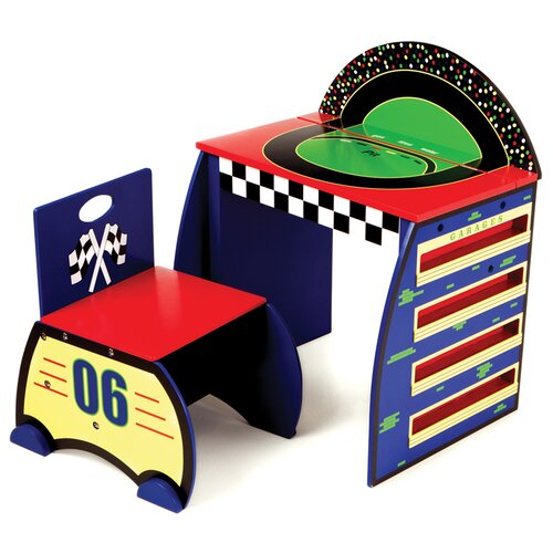 Levels of Discovery Race Track Activity Desk Set