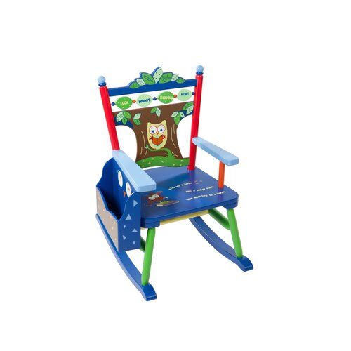 Owls Kid's Rocking Chair