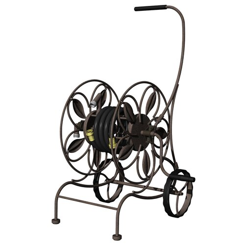 Metal Hose Reel Cart